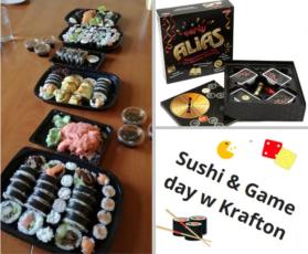 Sushi & Game Day z Violet Sushi
